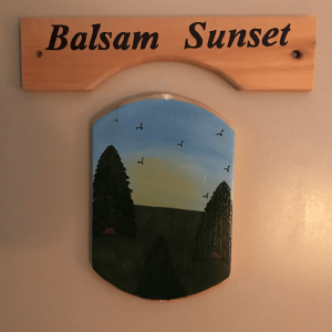 Balsam Sunset Room